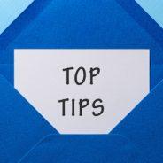 Tips Toward Success!