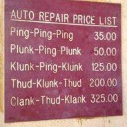 Garage Math